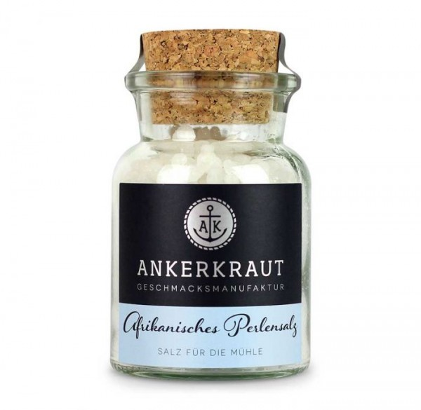 Ankerkraut Afrikanisches Perlensalz im Korkenglas 170g
