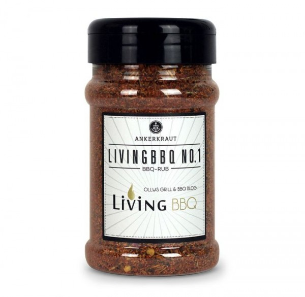 Ankerkraut BBQ-Rub Living BBQ No- 1 im Streuer 200g