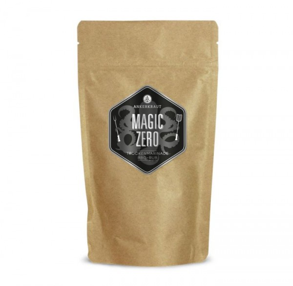 Ankerkraut BBQ-Rub Magic ZERO- OHNE ZUCKER im Beutel 250g
