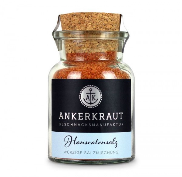 Ankerkraut Hanseatensalz im Korkenglas