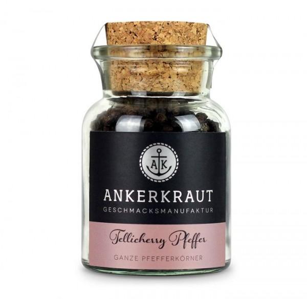 Ankerkraut Tellicherry Pfeffer- ganz Körne- im Korkenglas 70g