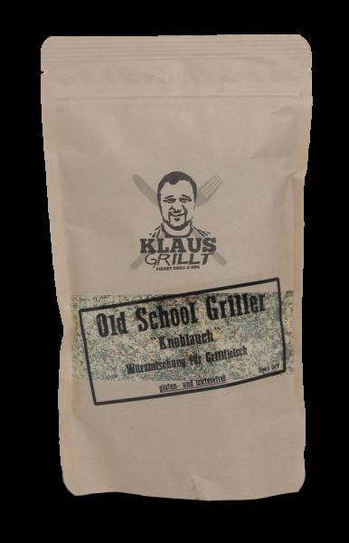 Klaus Grillt Old School Griller Knoblauch im Beutel