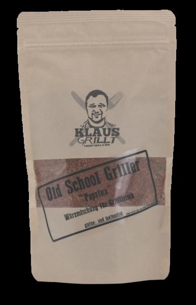 Klaus Grillt Old School Griller Paprika im Beutel