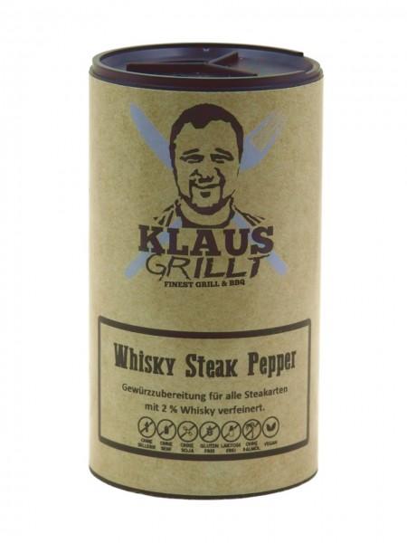 Klaus Grillt Whisky Steak Pepper im Streuer (100g)