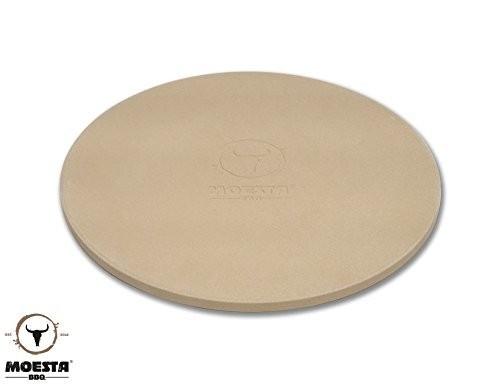 Moesta BBQ Pizzastein mit Stier - 36-5 cm