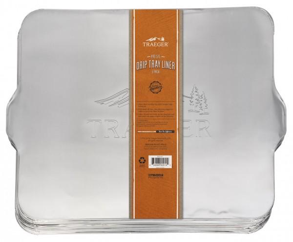 Traeger Fettauffangschale - Abtropfblech für Pro 575 (5er Pack)