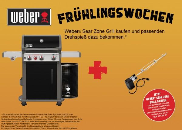 Weber Spirit E-330 Premium GBS Gasgrill- Black Modell 2020